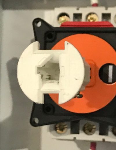 HPU Electrical Disconnect